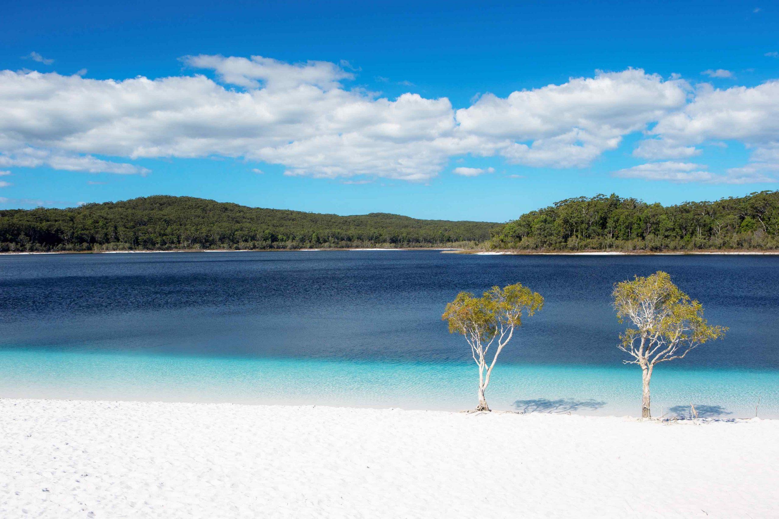 Photo of Lake Mackenzie on Fraser Island