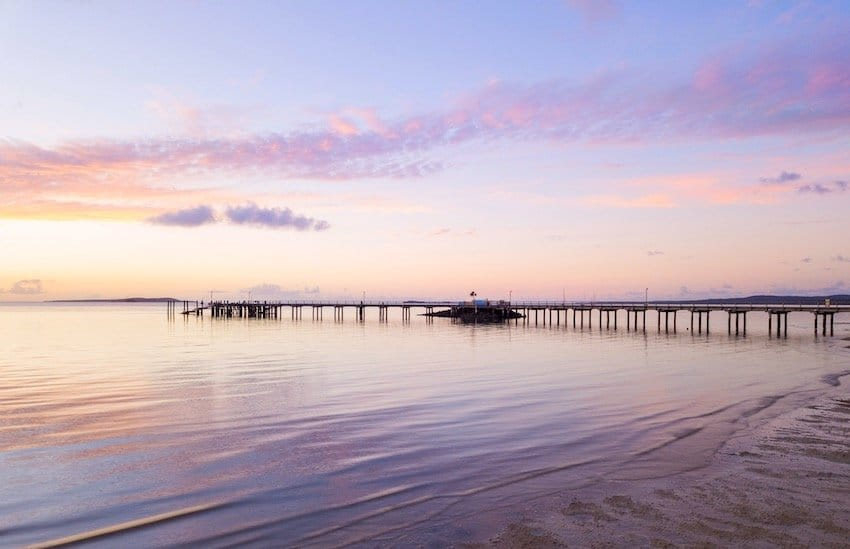 Fraser Island Jetty