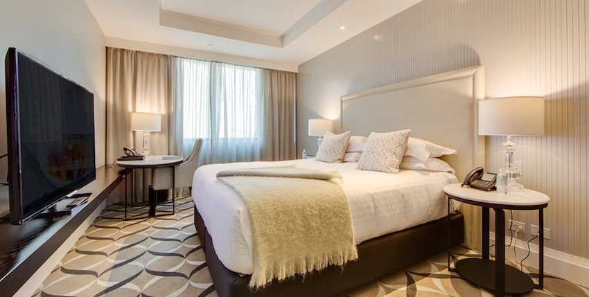 King Luxury Room at The Mayfair Hotel in Adelaide