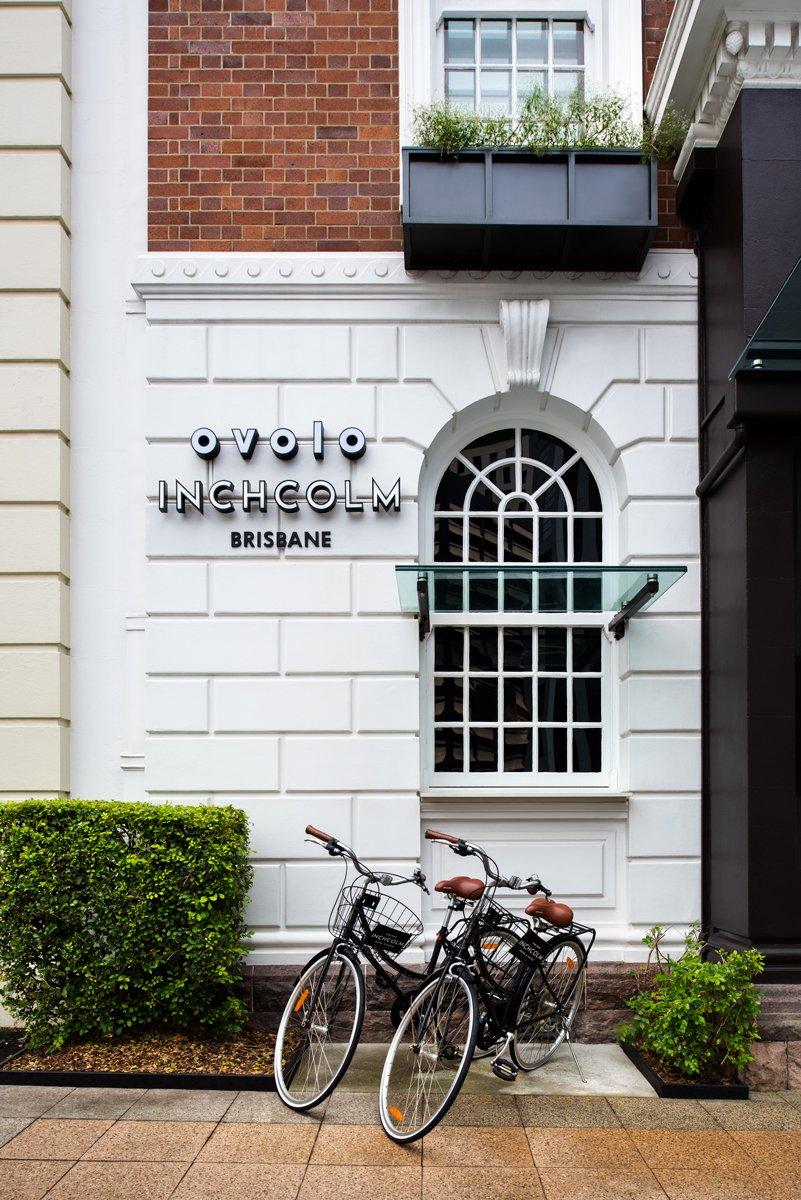 Exterior of Inchcolm Ovolo in Brisbane