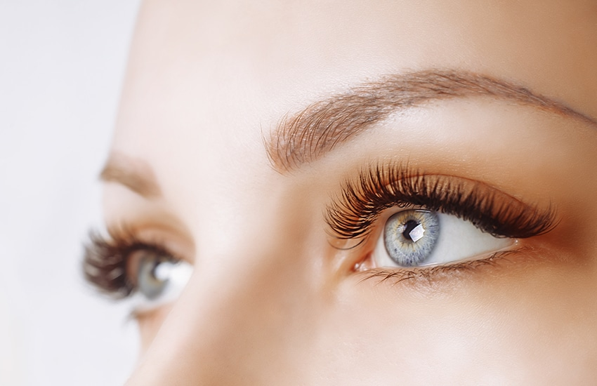 Healthy long lashes