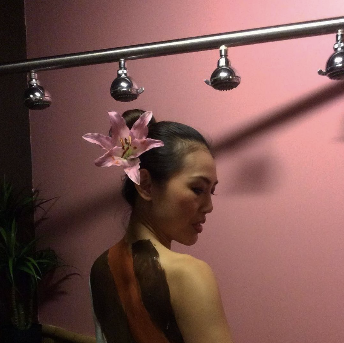 Enjoy a Vichy shower experience at Sakura Day Spa