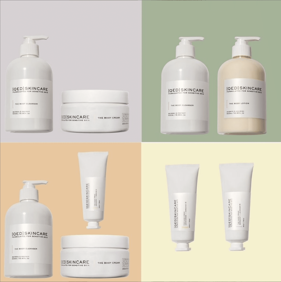QED Skincare for itchy winter skin